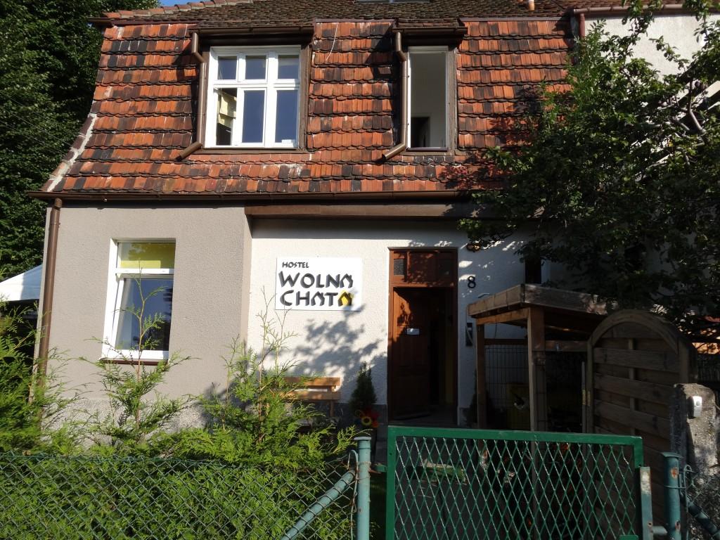 l'auberge Wolna Chata au petit matin