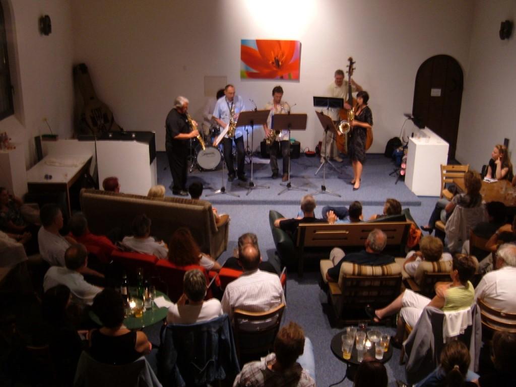 Concert de jazz à la Hacienda