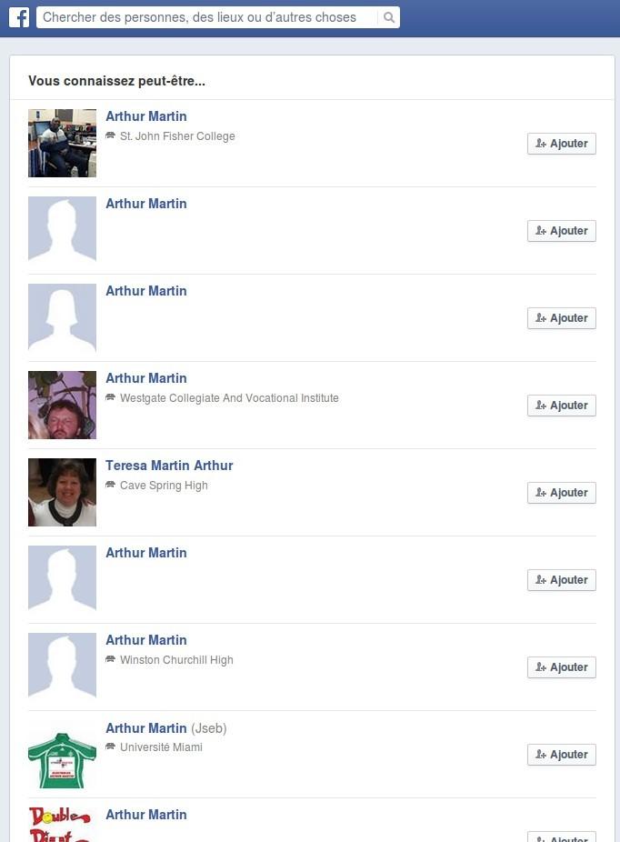 arthur martin facebook