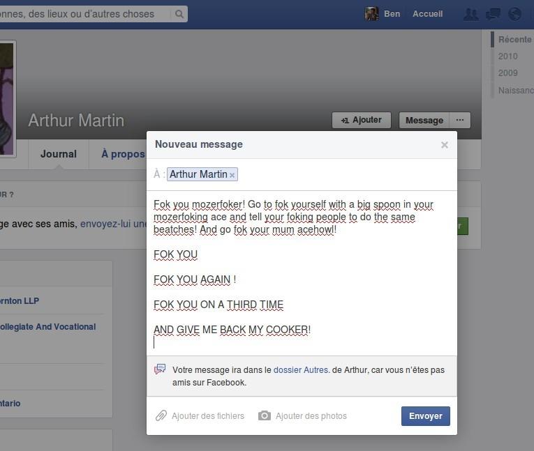 arthur martin conversation facebook