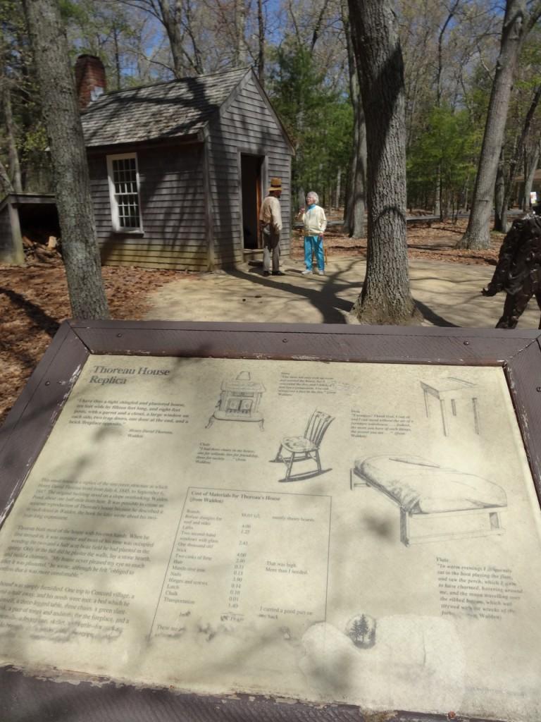 La cabane de Thoreau - réplique