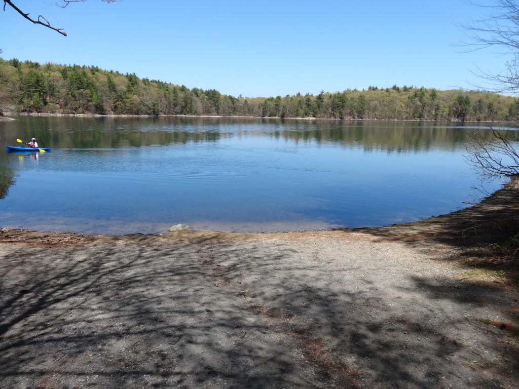 Promenade autour de l'étang