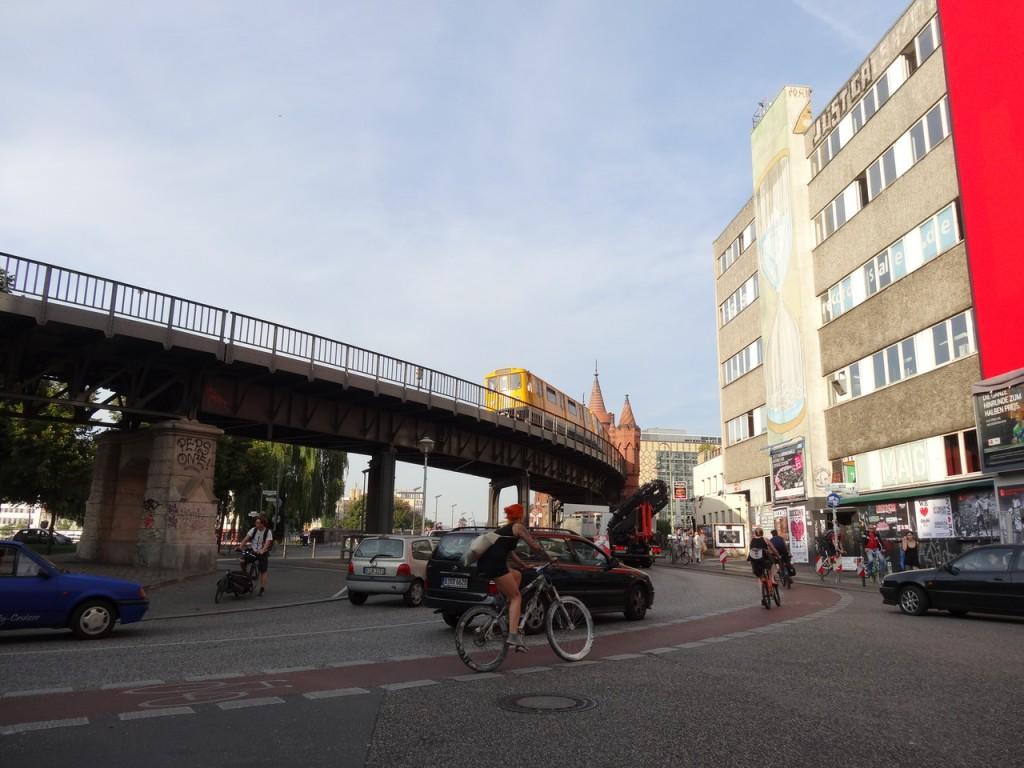 U-Bahn und Oberbaumbrücke