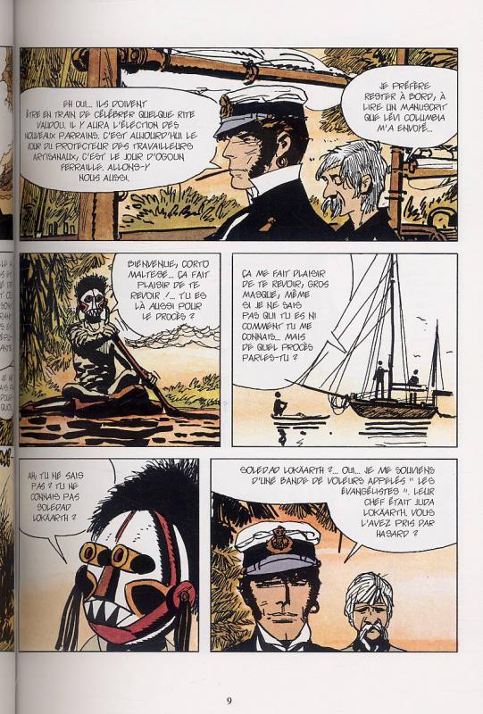 Corto et le magicien Vaudou